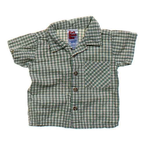 Park Bench Kids Plaid Button-up Shirt in size 12 mo at up to 95% Off - Swap.com