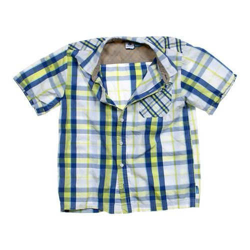 Phys.Sci Plaid Button-up Shirt in size 10 at up to 95% Off - Swap.com