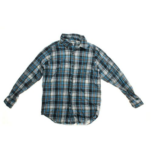 The Children's Place Plaid Button-up Shirt in size 14 at up to 95% Off - Swap.com
