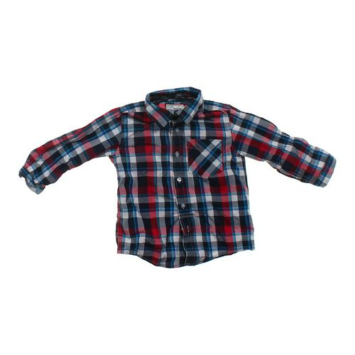 The Children's Place Plaid Button-up Shirt in size 3/3T at up to 95% Off - Swap.com