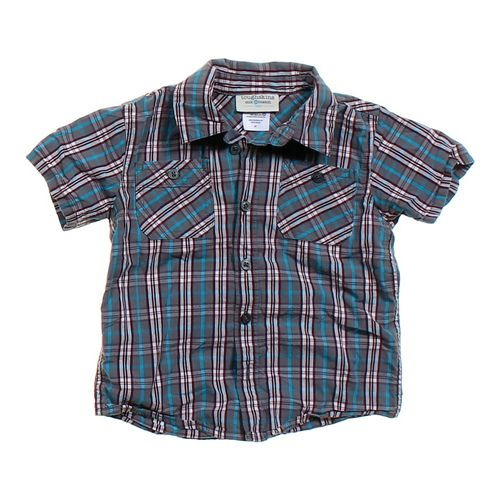 Toughskins Mix & Match Boys Plaid Button-Up Shirt in size 4/4T at up to 95% Off - Swap.com