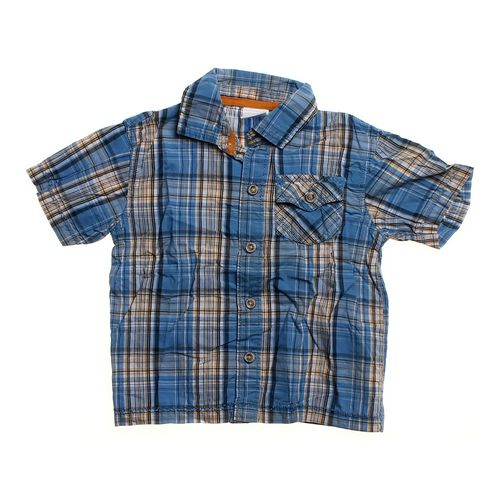 WonderKids Plaid Button-up Shirt in size 18 mo at up to 95% Off - Swap.com
