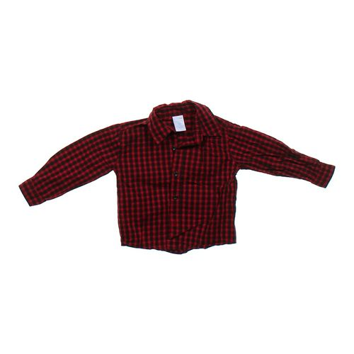 WonderKids Plaid Button-up Shirt in size 2/2T at up to 95% Off - Swap.com