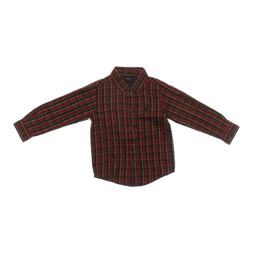 Wrangler Plaid Button-up Shirt in size 4/4T at up to 95% Off - Swap.com
