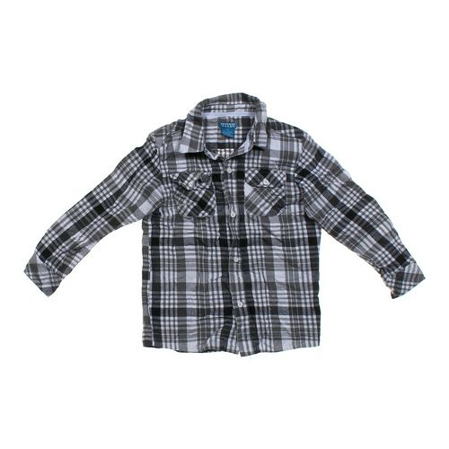 French Toast Plaid Button-up Shirt in size 7 at up to 95% Off - Swap.com