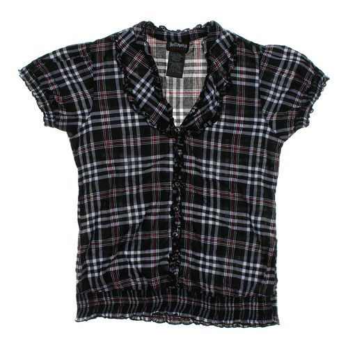 Hot Tempered Plaid Button-up Shirt in size JR 11 at up to 95% Off - Swap.com