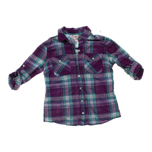Mossimo Supply Co. Plaid Button-up Shirt in size JR 0 at up to 95% Off - Swap.com