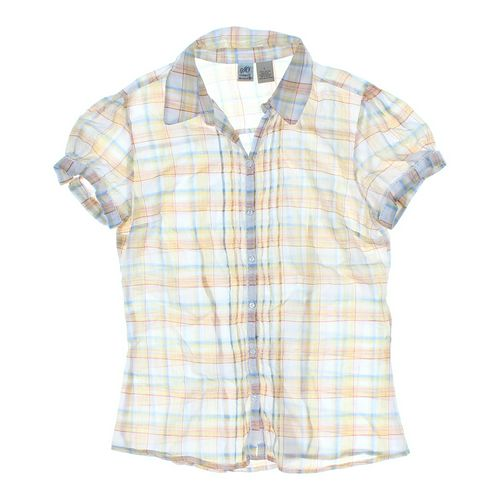 SO Plaid Button-up Shirt in size 14 at up to 95% Off - Swap.com