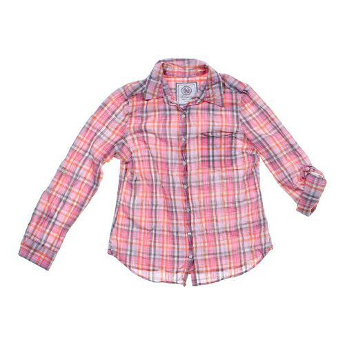 SO Plaid Button-up Shirt in size JR 11 at up to 95% Off - Swap.com