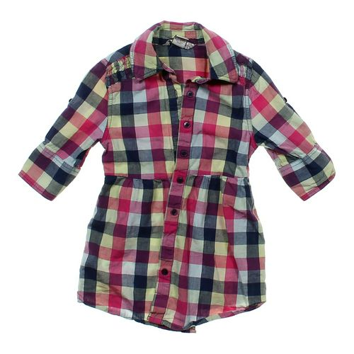 Trim & Flirt Plaid Button-up Shirt in size 6 at up to 95% Off - Swap.com