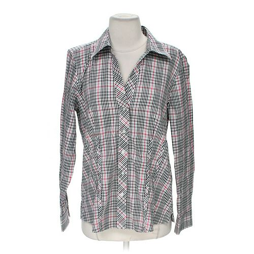 Foxcroft Plaid Button-up Shirt in size M at up to 95% Off - Swap.com