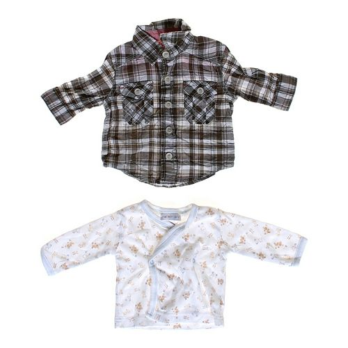 Genuine Kids from OshKosh Plaid Button-up & Shirt Set in size NB at up to 95% Off - Swap.com