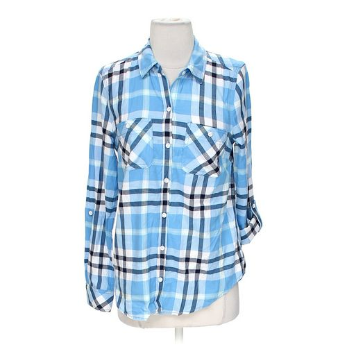 Sonoma Plaid Button-up Shirt in size XS at up to 95% Off - Swap.com