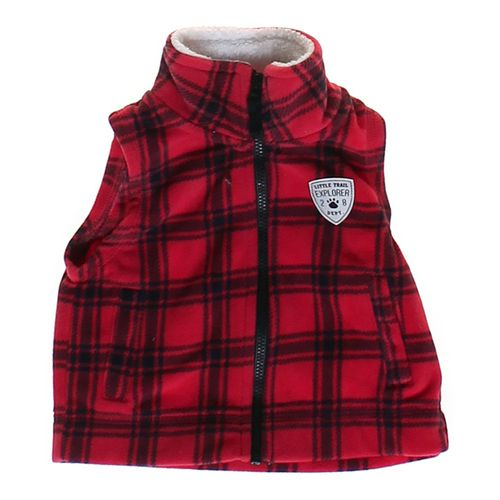 Carter's Plaid Comfy Vest in size 6 mo at up to 95% Off - Swap.com