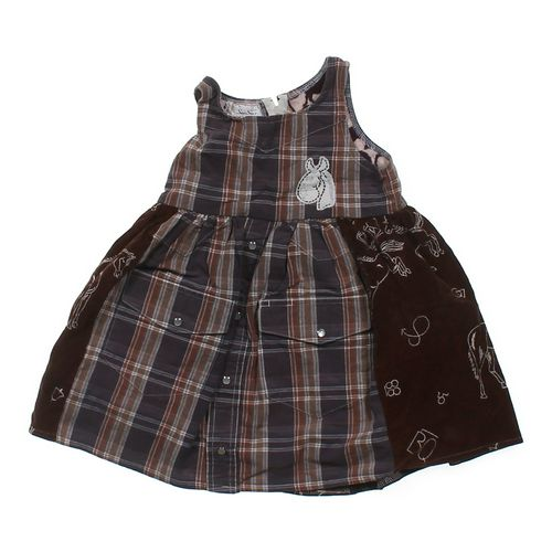 Sue-Sue's Plaid Corduroy Dress in size 4/4T at up to 95% Off - Swap.com