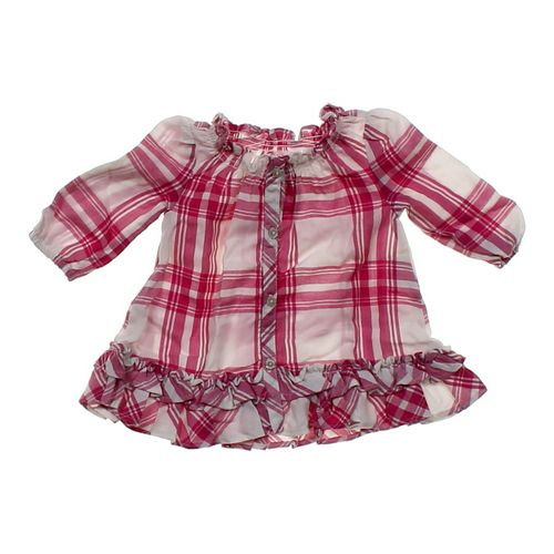Chaps Plaid Dress in size 3 mo at up to 95% Off - Swap.com