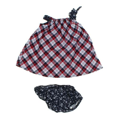The Children's Place Plaid Dress Set in size 3 mo at up to 95% Off - Swap.com