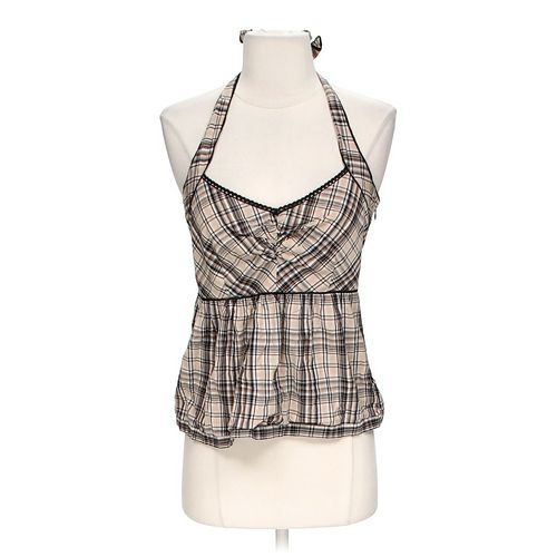 Edmé & Esyllte Plaid Halter Top in size 2 at up to 95% Off - Swap.com