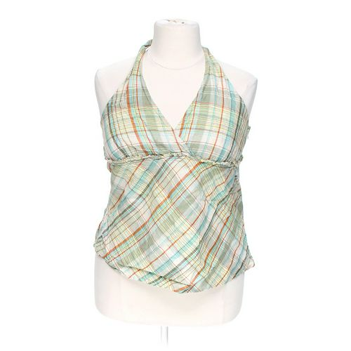 Merona Plaid Halter Top in size XXL at up to 95% Off - Swap.com