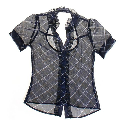 Windsor Plaid Layering Blouse in size JR 3 at up to 95% Off - Swap.com
