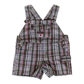Plaid Overall Shorts for Sale on Swap.com