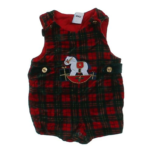 Plaid Overalls in size 6 mo at up to 95% Off - Swap.com