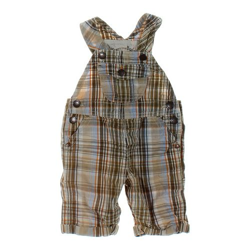 Genuine Kids from OshKosh Plaid Overalls in size 3 mo at up to 95% Off - Swap.com