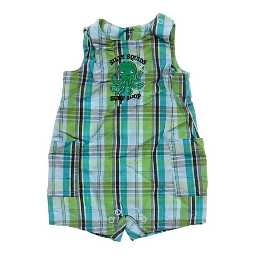 Carter's Plaid Romper in size 3 mo at up to 95% Off - Swap.com