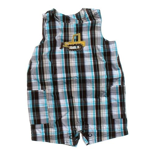 Carter's Plaid Romper in size 6 mo at up to 95% Off - Swap.com
