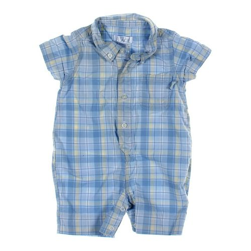 The Children's Place Plaid Romper in size 6 mo at up to 95% Off - Swap.com