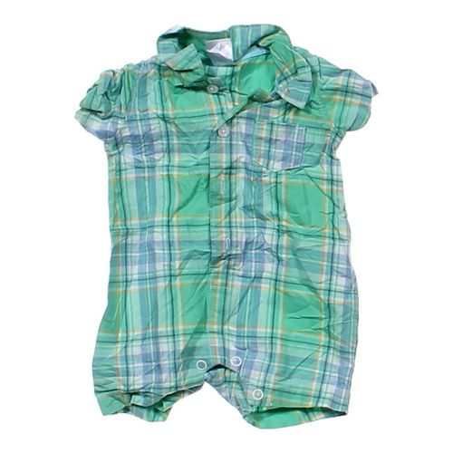 Carter's Plaid Romper in size NB at up to 95% Off - Swap.com