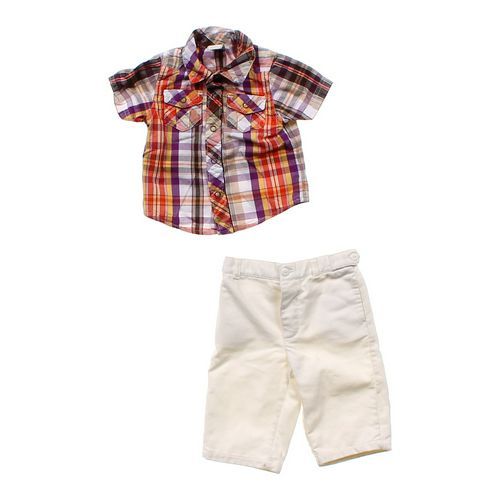 Old Navy Plaid Shirt & Cozy Pants in size 3 mo at up to 95% Off - Swap.com