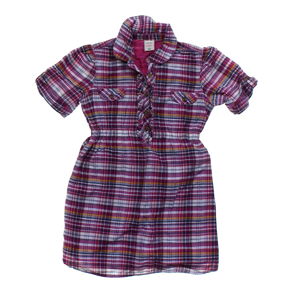 Old Navy Plaid Shirt Dress Online Consignment