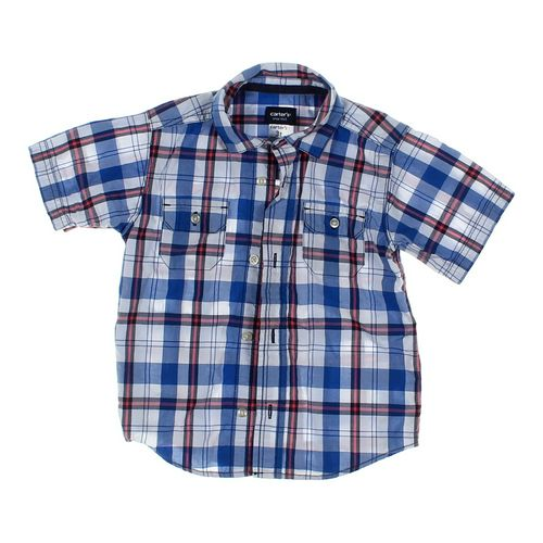 Carter's Plaid Shirt in size 3/3T at up to 95% Off - Swap.com