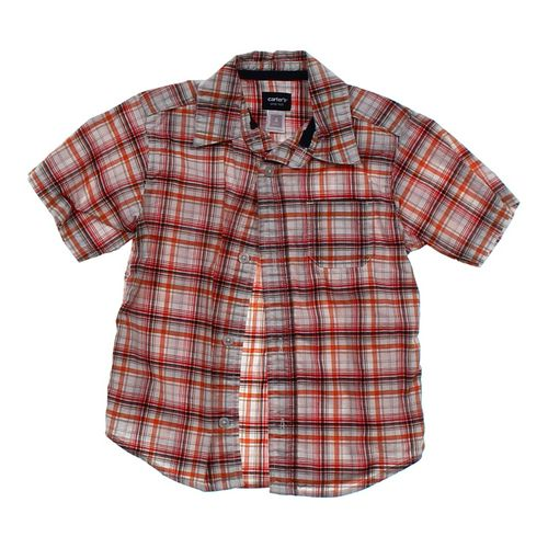 Carter's Plaid Shirt in size 4/4T at up to 95% Off - Swap.com