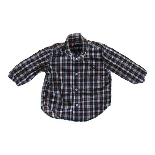 Chaps Plaid Shirt in size 24 mo at up to 95% Off - Swap.com
