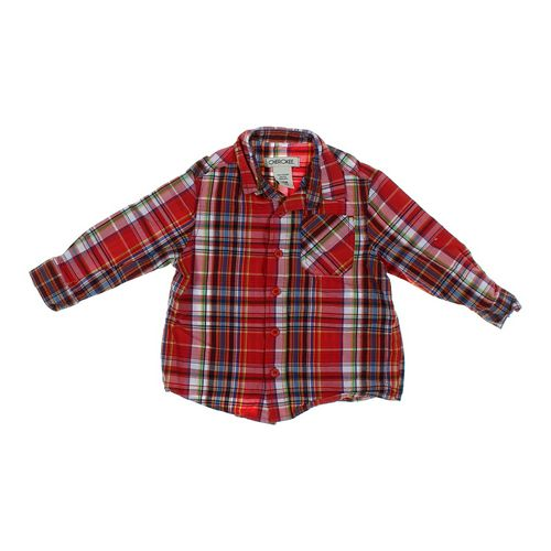 Cherokee Plaid Shirt in size 18 mo at up to 95% Off - Swap.com