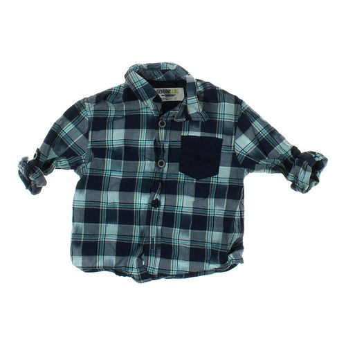 Genuine Kids from OshKosh Plaid Shirt in size 3/3T at up to 95% Off - Swap.com