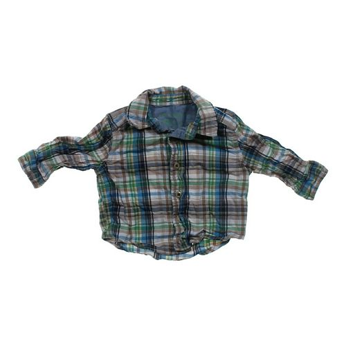 Genuine Kids from OshKosh Plaid Shirt in size 6 mo at up to 95% Off - Swap.com