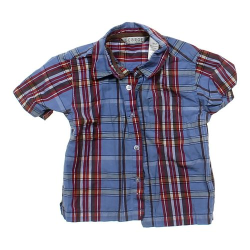 GEORGE Plaid Shirt in size 18 mo at up to 95% Off - Swap.com