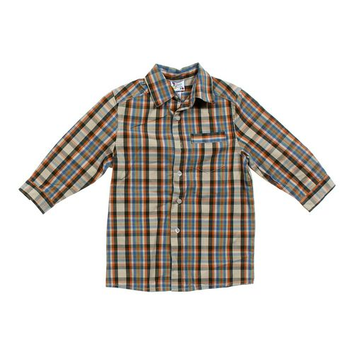 Gum Balls Plaid Shirt in size 4/4T at up to 95% Off - Swap.com