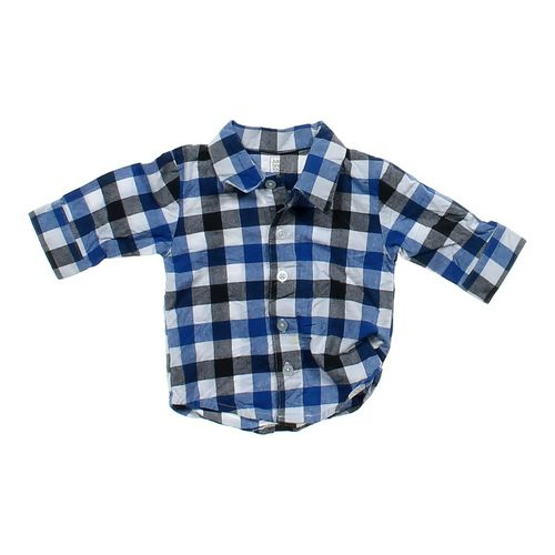 Just One You Plaid Shirt in size 3 mo at up to 95% Off - Swap.com