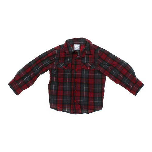 Okie Dokie Plaid Shirt in size 24 mo at up to 95% Off - Swap.com