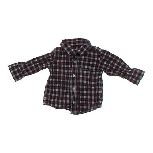 Old Navy Plaid Shirt in size 12 mo at up to 95% Off - Swap.com