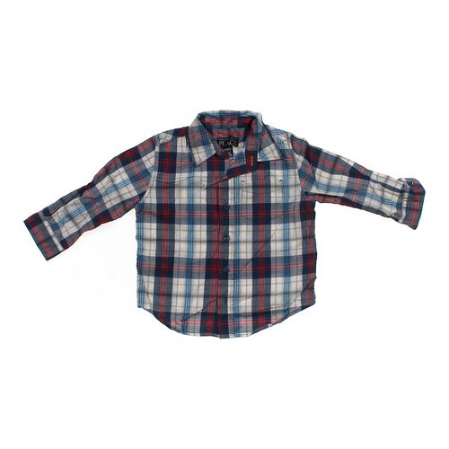 The Children's Place Plaid Shirt in size 24 mo at up to 95% Off - Swap.com