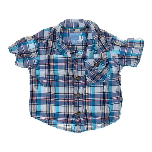 The Children's Place Plaid Shirt in size 3 mo at up to 95% Off - Swap.com