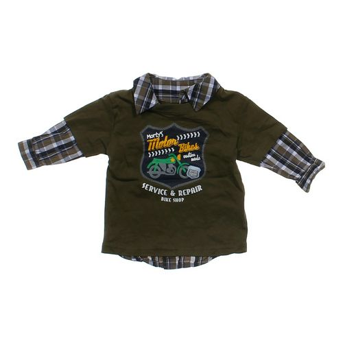 Toughskins Plaid Shirt in size 12 mo at up to 95% Off - Swap.com