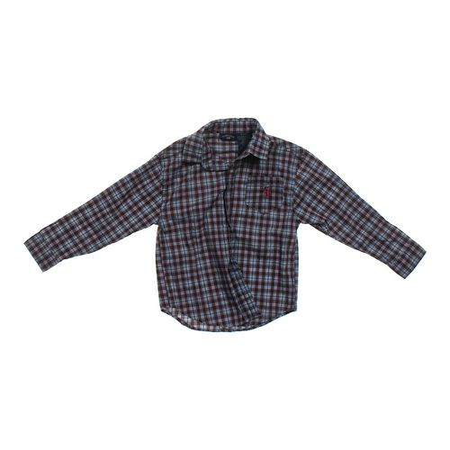 U.S. Polo Assn. Plaid Shirt in size 7 at up to 95% Off - Swap.com