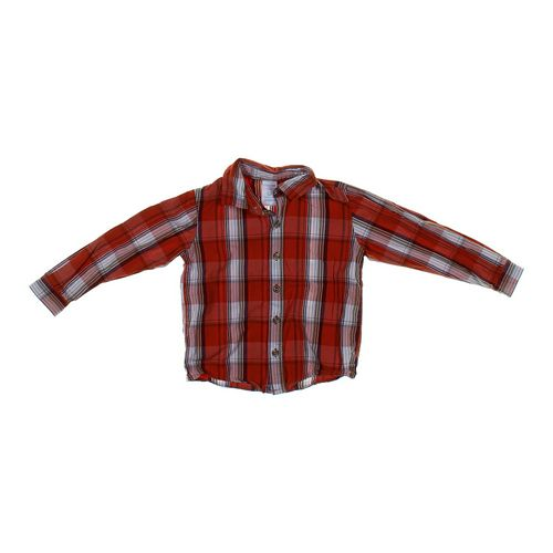 WonderKids Plaid Shirt in size 4/4T at up to 95% Off - Swap.com