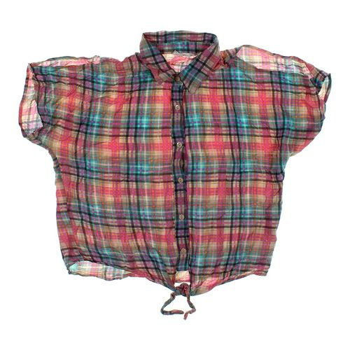 Derek Heart Plaid Shirt in size JR 11 at up to 95% Off - Swap.com